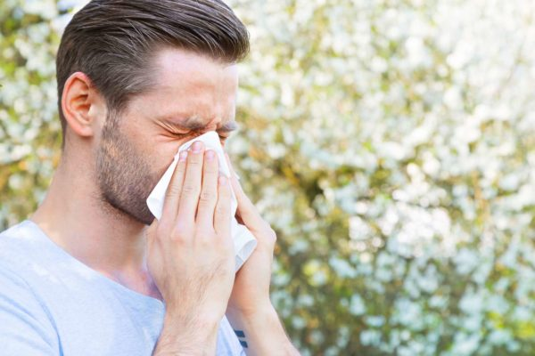 allergi hosta på natten